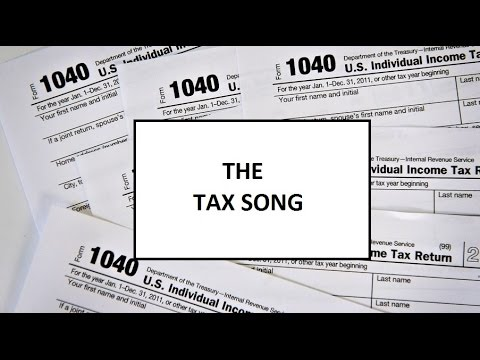 THE TAX SONG