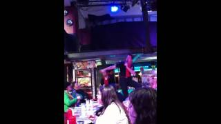 Empire State of Mind by the singing waitress at Ellen's Stardust Diner, NY
