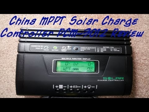 Chinese MPPT Solar Charger MPPSolar PCM-3012 Review