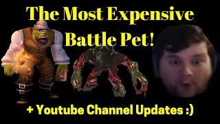 The Most Expensive Battle Pet ! - Youtube Content Update! - Funny Twitch Clip :)