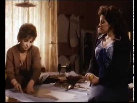 La splendida Francesca Dellera nel film La Romana