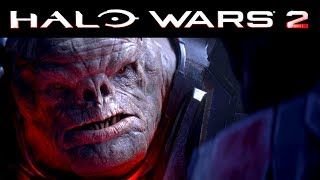 Halo Wars 2 Awakening the Nightmare - First Mission and CUTSCENE (Xbox One X 4K)