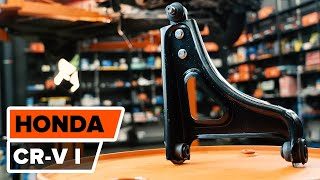 How to replace Suspension arm HONDA NSX Coupe Tutorial