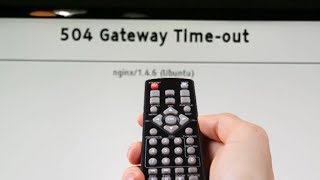 Vestel tv hatası çözümü 504 gateway time out nginx 1 4 6 ubuntu