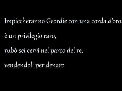 Gabry Ponte - Geordie (London Bridge Remix) TESTO! HD