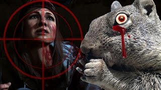 (Spoilers) Nature FIGHTS Back!  - Until Dawn Animal Massacre