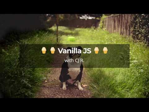 Vanilla JS MVC - Recorded LIVE! From Denver Node.js Meetup - Front-end Framework Showdown