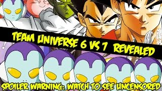 Dragon Ball Super Champa Arc BREAKING NEWS: Team Universe 6 Character Designs Revealed! [Spoilers]