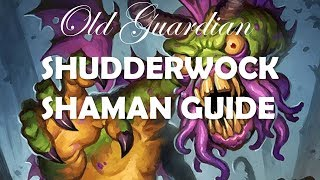 How to play Shudderwock Shaman (Hearthstone Boomsday deck guide)