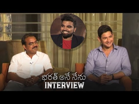 Anchor Pradeep Interviews Mahesh Babu and Koratala Siva About Bharat Ane Nenu