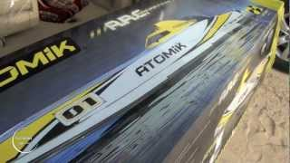 Download lagu UNBOXING RC - THE NEW ATOMIK A.R.C 58″ RTR ELECTRIC BOAT