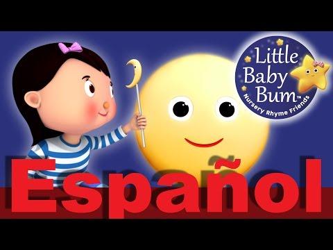 La canción de la luna | Canciones infantiles | LittleBabyBum