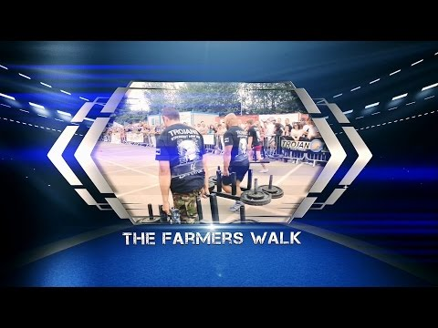 Episode 1: Trojans Strongest Man 2014 - Athlete Entrances and The Farmers Walk by JG Films
