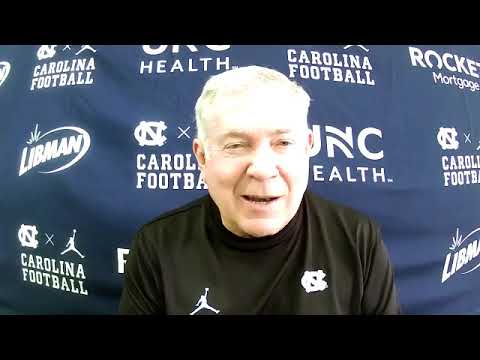 Video: Mack Brown Wednesday Post-Practice Press Conference