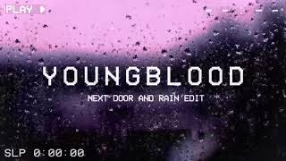 youngblood acoustic — 5 seconds of summer (next door with rain edit)