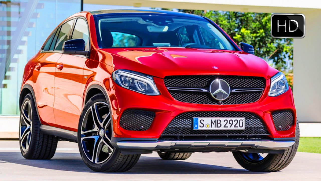 2016 mercedes benz gle 450 amg 4matic coupe exterior design hd youtube. Black Bedroom Furniture Sets. Home Design Ideas