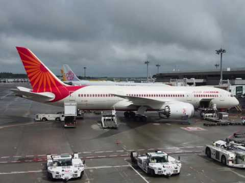 2016/07/31 Air India 306 Announcement: Delhi - Tokyo Narita