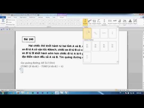 [Lớp 8]LPT - Bài 2  Bài toán Vận Tốc, Quãng đường  (quy về hàm thời gian)