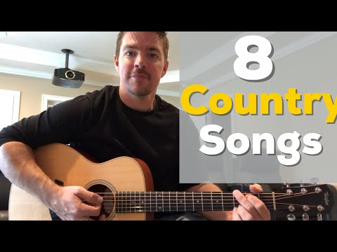 8 Country Songs Beginners Should Learn with Chords