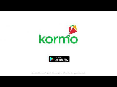 Kormo app — How to find a job