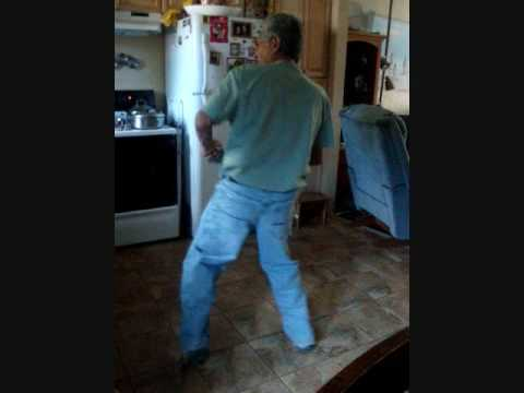 Old man does the Stanky Leg