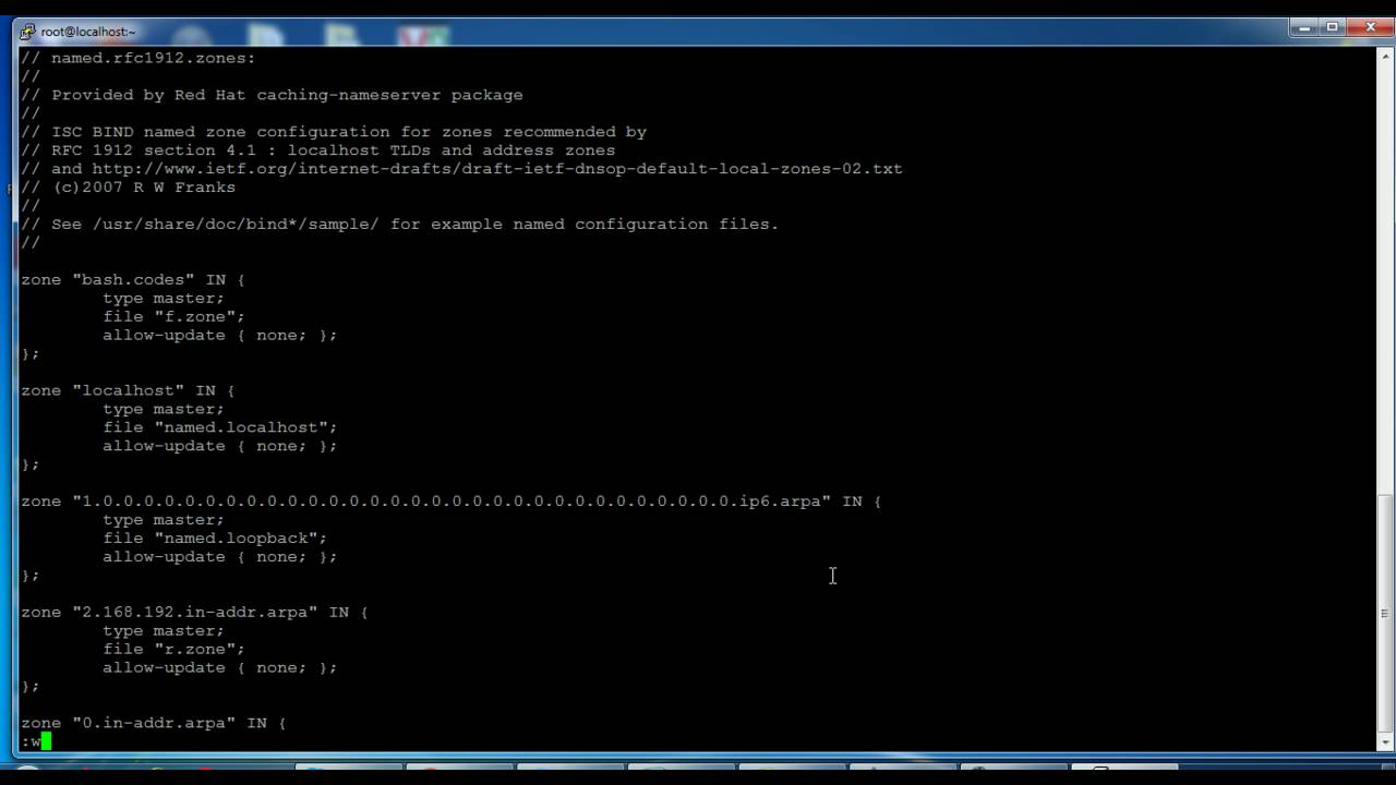 How to install and configure DNS server in RHEL/CentOS 7