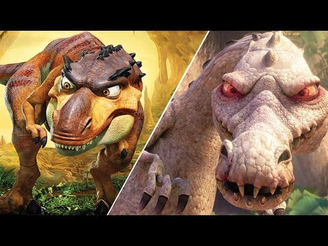 Ice Age 3: Dawn Of The Dinosaurs - Rudy Vs Mama Rex
