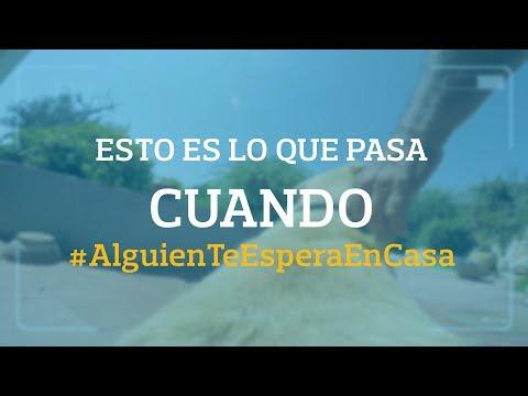 Esto es lo que pasa cuando #AlguienTeEsperaEnCasa   Aon España