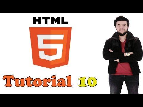 HTML Tutorial 10 - Créer Un Label,une Zone De Texte Avec  HTML