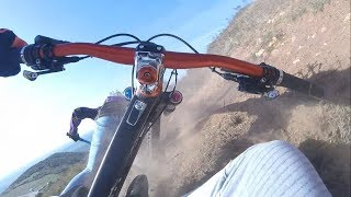 MTB GoPro FREERIDE DROP OFF CRASHES