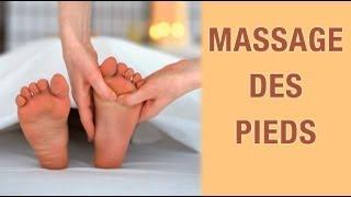 Massage des pieds - Réflexologie plantaire