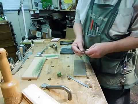 Quick & Easy Molding Plane Sharpening
