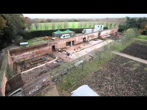 Grappenhall Heys Walled Garden Time Lapse Video Feb 2014