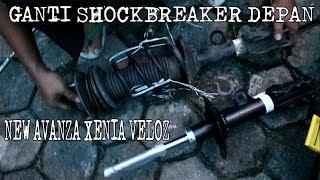 GANTI SENDIRI SHOCKBREAKER DEPAN NEW XENIA ( REPLACING FRONT SHOCKBREAKER )