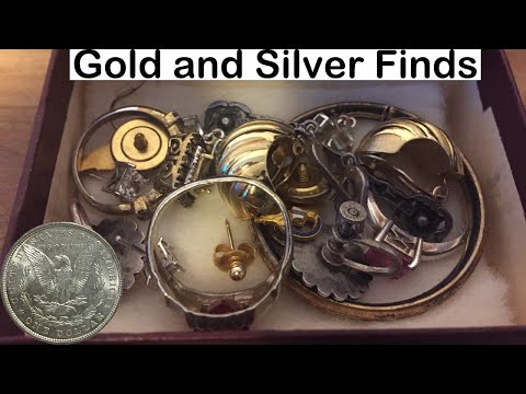 Garage Sale Picking May 14th 2016: Gold and Silver