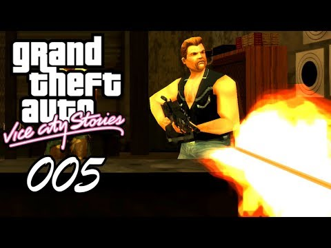 GTA Vice City Stories #005 🔫 Deutsch 100% ∞ Cleaning House | Conduct Unbecoming ∞ Let's Play German