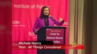 Michele Norris at Center for American Women and Politics (Rutgers University)
