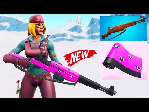 IT'S HERE! NEW GUN, NEW WRAP, NEW UPDATE in Fortnite!