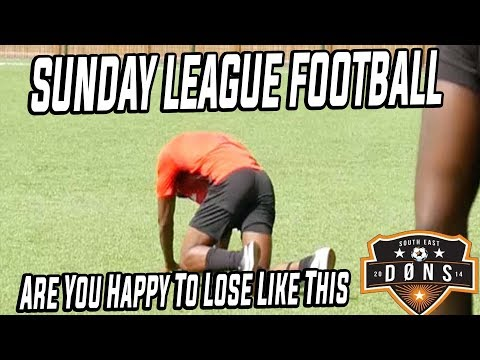 SE DONS SUNDAY LEAGUE: 'Are You Happy To Lose Like This!'
