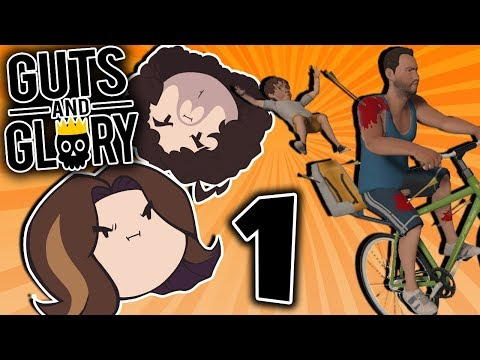 Guts and Glory: Floppin' Wagon - PART 1 - Game Grumps