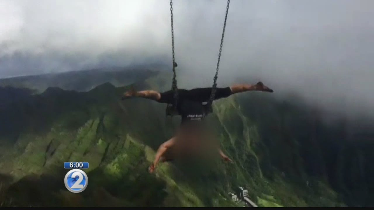 Illegal Haiku Stairs swing will come down, but others exist across ...