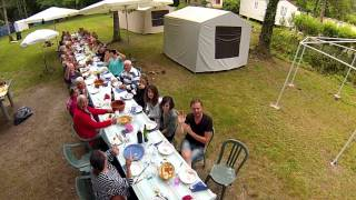 Repas Ch'ti au camping l'Ayguelade