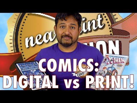 You STILL Buy PAPER COMICS?