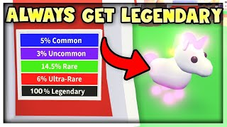 HOW TO ALWAYS HATCH A LEGENDARY PET *OMG IT WORKS*- TESTING OUT LEGENDARY PET HACKS FROM YOU GUYS