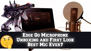 Antelope Audio Edge Go unboxing and First look | Is this the best microphone ever?