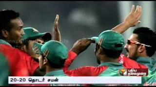 Zimbabwe beats Bangladesh by 3 wickets in second T20 to draw series