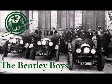 The Bentley Boys | Playboy Racers of the 1920s | Exhibit at OHTM