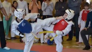 Тхэквондо дети лучшее - Taekwondo kids best(Команда поселка Красных ткачей по Тхэквондо на городских в Рыбинске. The command of the settlement Red weavers Taekwondo on city in..., 2016-03-26T21:23:05.000Z)