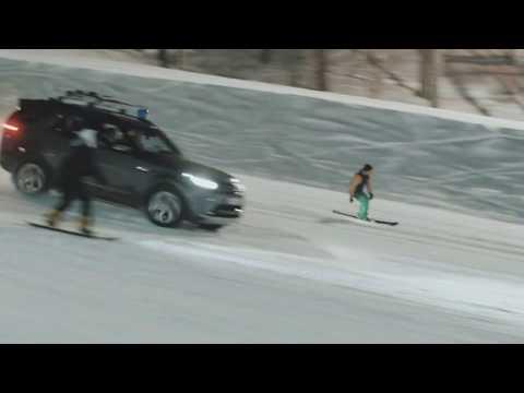 """В тюменском """"Кулига-парке"""" планируют поставить рекорд по спуску на сноубордах"""