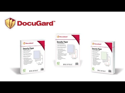 Paris Corporation - DocuGard Medical Security Paper - Dealer Version